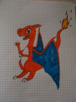 Charizard by WhiteOrchid14