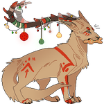 Christmas Fa Pixel Commission by Gato-Iberico