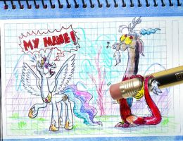 Discord is in my notebook by seriousdog