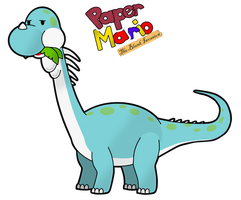 PM14PreH Rabidusaurus by The-PaperNES-Guy