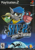 Alesia Glidewell - Sly Cooper 2 Autographed Cover by xxXSketchBookXxx