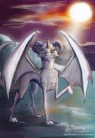 Commission Wacko the Ice Dragon by Mad--Munchkin