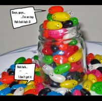 Lol. Jellybeans are funny... by MissGreysAnatomy
