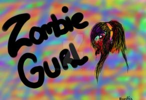 Zombie Girl by neckanome4