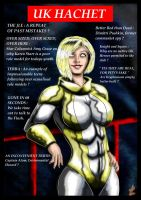 Powergirl : UK Hachet Edition by adamantis