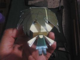 Heero Yuy papercraft by daigospencer