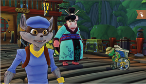 sly cooper , bentley and murray kimono in sly 4 by FCC93