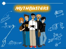 Mythbusters Anime Style by finalverdict
