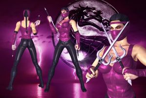 MK Movie: Mileena by UndeadMentor