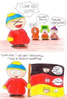 Cartman loves Germany by eikosalia