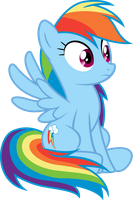Rainbow Dash by PaulySentry
