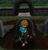 In the Graveyard -Gift- by ChaosBoundJenna