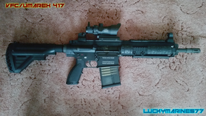 Airsoft VFC 417 by Luckymarine577