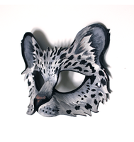 Snow Leopard Mask! by OakMyth