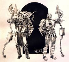 Kane and Able - the Road Warriors by Leif-Erik