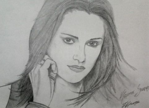 MY KRISTEN STEWART DRAWING by FuatK