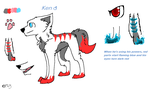 Ken Ref Sheet (Comic Character) by Unikonkukka