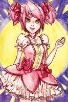 Madoka (finished!) by kittyboxes