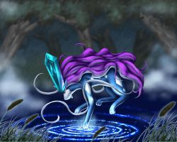 Purification - Suicune by Hikara-Productions