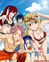 Fairy Tail by DigiAnime