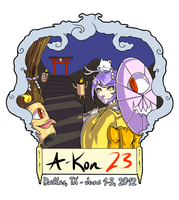 A-Kon 23 Shirt Design Entry by Pikakus
