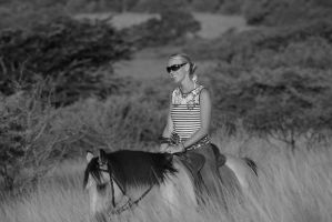 AFRICAN RIDER by planetzog