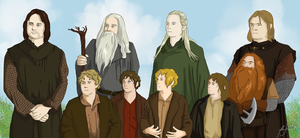 The Fellowship of the Ring by Aoi-nikkou