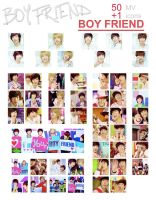 Boyfriend MV icon pack 50 by e11ie