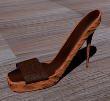 Heels - wood by temudjin1155