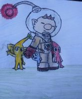 Pikmin doodle (fifteen minutes and colored) by TeamSonicForever4910