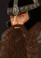 Lord Of The Ring - Gimli by kebabh