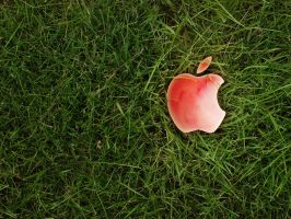 Apple in the Grass by Death-By-Romance