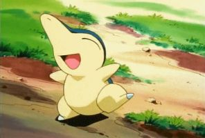 Cyndaquil dancing happily! by ryanthescooterguy