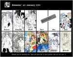 All Art 2014 by Kodomina