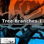 TreeBranchBrushes01 by AscendedArts