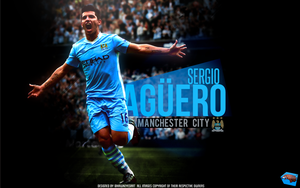 Sergio Aguero by TheHawkeyeStudio