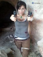 Lara Croft dual pistols by AdaCroft