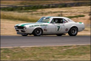 Alan Green Chevrolet Z-28 Camaro by SharkHarrington