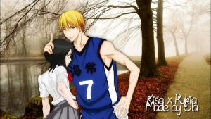 Kise and Rukia I Autumn Crossover by xMissEllax
