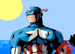 Captain America by BassMS