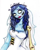 Old Art: The Corpse Bride by TristaStrange01