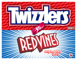 Twizzlers vs. Redvines by djnjpendragon