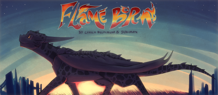 Flame Born Banner by DJaimon