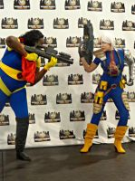 Bishop VS Cable - Wizard World Philly by CptTroyHandsome