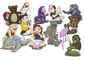 me2 rugrats by K-Laine