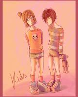 Kids :MxM: by andrahilde