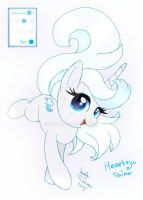 My New Pony OC Hearteye Shine by Joakaha