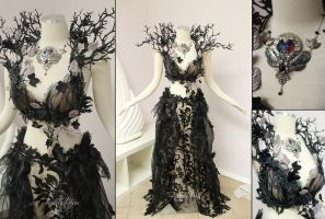 Unseelie Faerie Gown by Lillyxandra