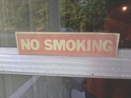 No Smoking by Proud2BMe1936