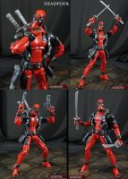 Custom Marvel vs Capcom 3 Deadpool by Jin-Saotome
